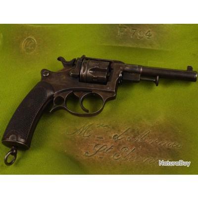 REVOLVER ESSAI ST ETIENNE Mdl 1887 daté 1888 Calibre 8 mm - France IIIe Rep. Reglo France France III