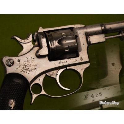 REVOLVER ESSAI ST ETIENNE Mdl 1887 daté 1888 Calibre 8 mm - France IIIe Rep. Reglo France Bon  Franc