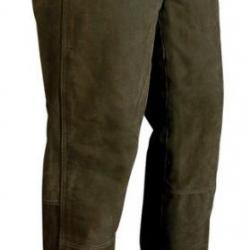 Pantalon chasse VERNEY-CARRON Tom cuir marron foncé
