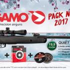 PACK PROMO NOËL  !  PACK SENIOR QUIET CAT - 20 JOULES - LUNETTE 4X32 WR - CIBLES - PLOMBS RED FIRE