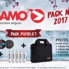 PACK PROMO NOËL ! PISTOLET GAMO P27 - BOÎTE PISTOL PRO 250 - MUNITIONS - 5 CAPSULES DE CO2