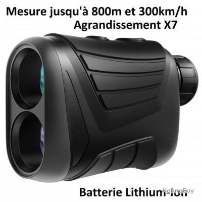 Appareil de mesure distance & vitesse par laser 7x24 Jumelle Radar