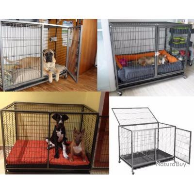 Cage chien XXL enclos chien cage chat cage furet parc chien NEUF cielterre-commerce