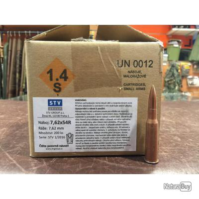 Munitions STV 7.62x54R
