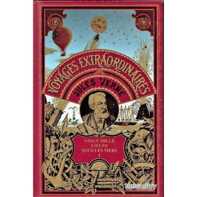 Livre De Jules Verne Vingt Mille Lieues Sous Les Mers Tomes 1 2