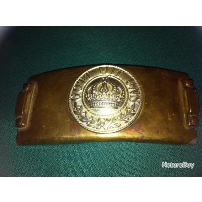 Boucle de télégraphiste Allemand WW1 ORIGINALE N°14488 - Ceinturons ... d59efbbe6bd