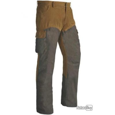 Pantalon Lucius Club Interchasse marron 48