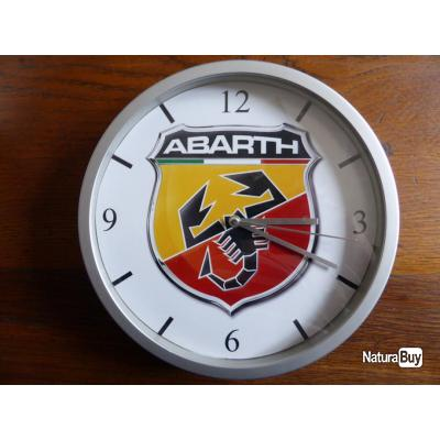 Abarth pendule murale horloge 20cms kdo dko autobianchi for Deco murale fiat 500