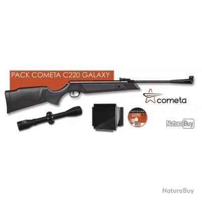 Gamo  via Carabine à plomb Cometa C220- Galaxy 4.5mm