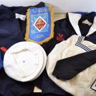 Lot souvenir 1er RAMa 1 RAMA Premier régiment d'artillerie de Marine, Marin uniforme