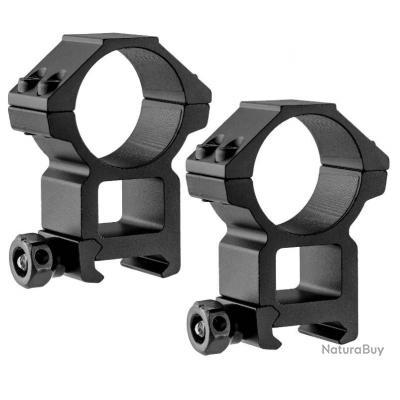 Colliers de Montage weaver - Picatinny - UTG diametre : 25.4 mm hauteur : 18 mm (SEP)