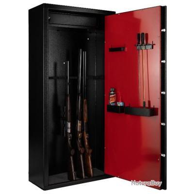 Coffre Armoire A Fusils Rietti A Clefs 12 Armes ! Promo 10 Jours Et Port  Offert