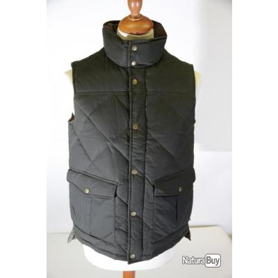 Gilet Barbour 100 % en plume d'oie Collection Classique Wax Feather