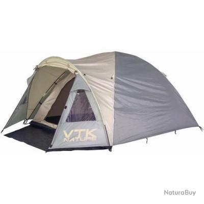 "VTK camping - Tente Dôme 3-MAN+ ""Riverside"" - Taille totale 210x305x140cm - ProPlus !!A saisir!!"