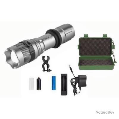 Torche Pro XFI-3WT - CREE led Power - 800Lumens - 3Watt - Rechargeable - Aluminium !!A saisir!!