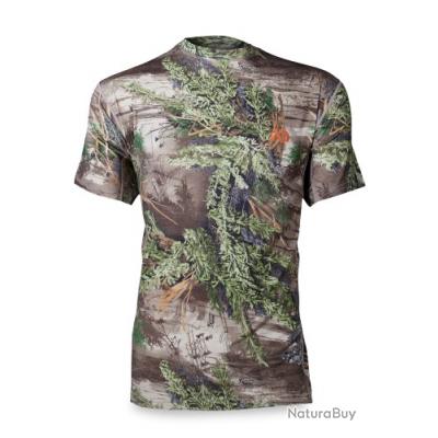 T-shirt manche courte Mérinos First Lite camo Max1 promo taille XL