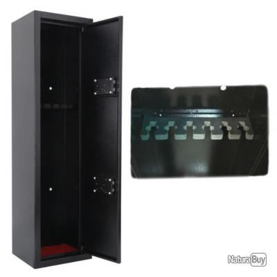 Coffre-fort armoire à fusils 6 armes // sécurité chasse protection carabine munitions pistolet tir