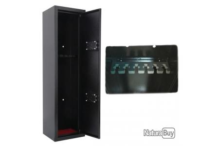 Coffre Fort Armoire A Fusils 6 Armes Chasse Protection Securite