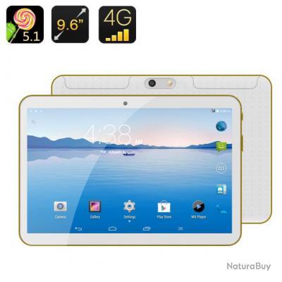 Phabette Tablette tactile téléphone Android 5.1, écran 9,6 pouces ...