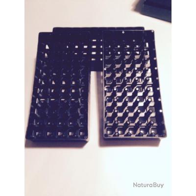 10 Boites , Plateau, tableau rangement de balles 9 mm para