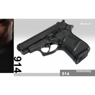 Zoraki 914 Black Cal 9mm P.A.K