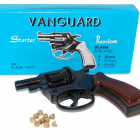 REVOLVER 6 MM A BLANC MADE IN ITALY 8 COUPS + 15  munitions 6 mm  PACK DEFENSE VANGUARD