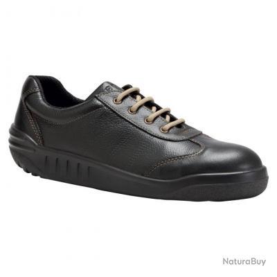 Sneakers de sécurité homme femme Parade Protection JOSIA Noir