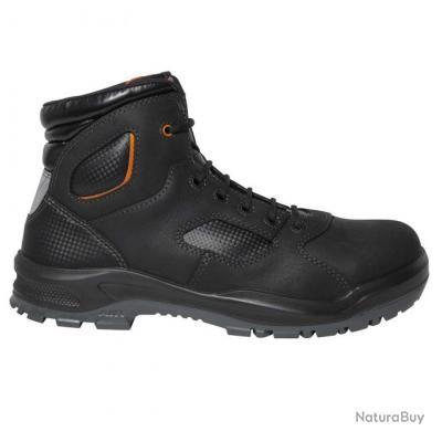 Sneakers de sécurité homme femme Parade Protection TREYK Noir
