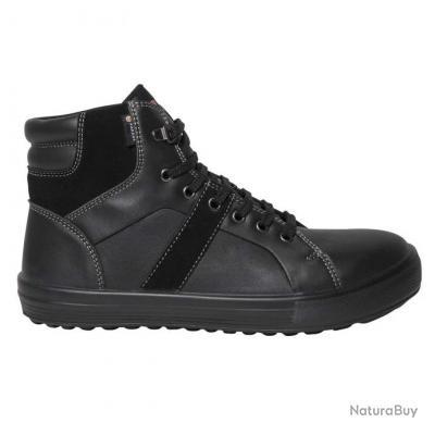 Sneakers de sécurité homme femme Parade Protection VISION Noir
