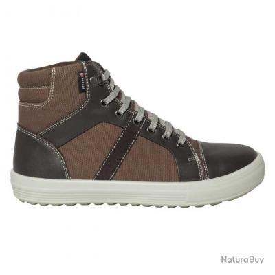 Sneakers de sécurité homme femme Parade Protection VERCOR Marron