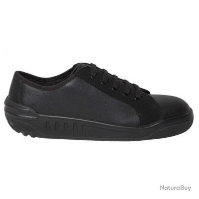 Royaume-Uni disponibilité aba23 1e243 Chaussures de sécurité Femme JUSTA Parade 37 Noir Cuir pleine fleur