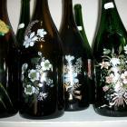 lot de 5 magnum  decors fleurs