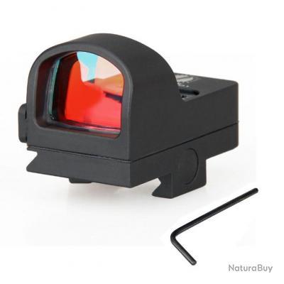 Red Dot Scope 2 MOA Red Dot Sight 20mm Étanche Antichoc pour Véritable Chasse CL2-0078