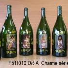 lot de 6 magnums  charme sexy