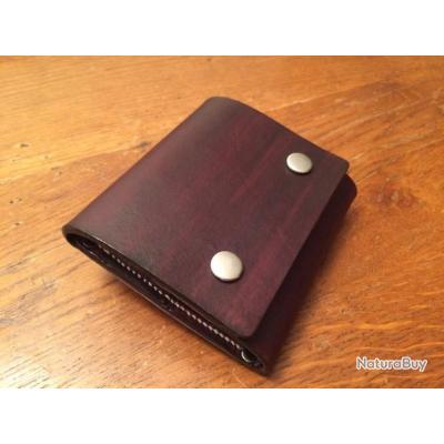 Cartouchière de ceinture en cuir - 5 cartouches en 7.64, 410, 7.62, 308 bfa566c9810