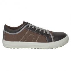 5117614e989 Chaussures de sécurité Homme FIRST Parade Marron 48 - Chaussure de ...