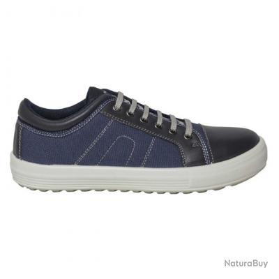 Sneakers de sécurité mixtes Parade Protection VANCE Bleu marine