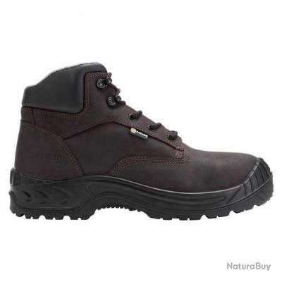 Chaussures de sécurité pour homme Parade Protection NESUVE Marron