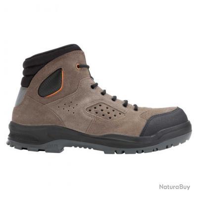 Boots de sécurité homme femme Parade Protection TONKA Marron