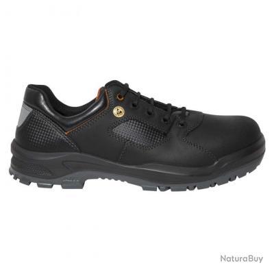 Chaussures de sécurité basses homme femme Parade Protection TIERRA Noir
