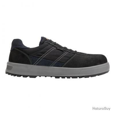 Sneakers de sécurité homme Parade Protection GAMMA Noir Bleu marine