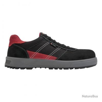 Sneakers de sécurité homme Parade Protection GAMMA Noir Rouge