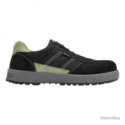 Sneakers de sécurité homme Parade Protection GAMMA Noir Vert