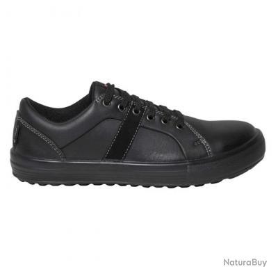 Sneakers de sécurité homme femme Parade Protection VARGAS Noir