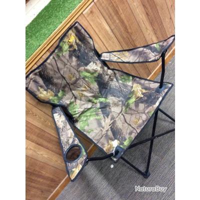 Chaise Pliante Couleur Camo Camouflage Confortable Porte Gobelet Sur Laccoudoir