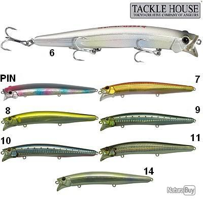 Leurre Tackle House Feed Shallow 128 Col. 6