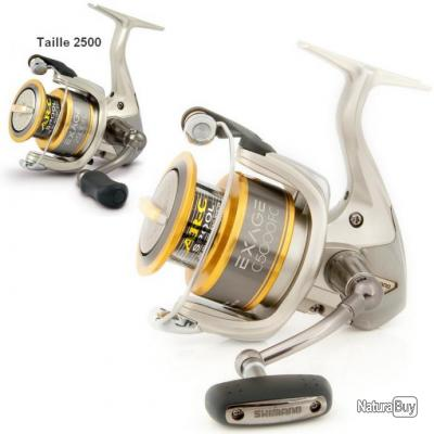 Moulinet Shimano Exage FC Taille 2500 FC