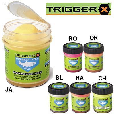 Pâte à Truite Orange Trigger X Jaune