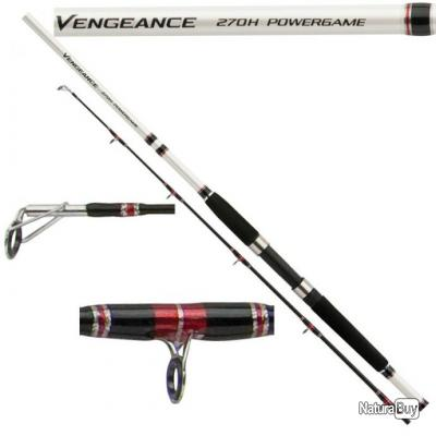 Canne Silure Shimano Vengeance Powergame Long. 2m70