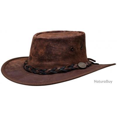 CHAPEAU SQUASHY KANGOUROU MARRON BARMAH HATS